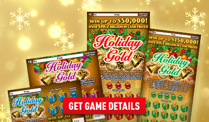 Holiday Gold Scratch-off's