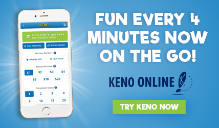 Keno Online Fun Every 4 Minutes Now On The Go