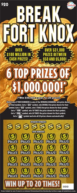 Available Scratch-off Games | KY Lottery