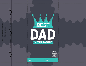 Give Scratch Offs to the Best Dad in the World!