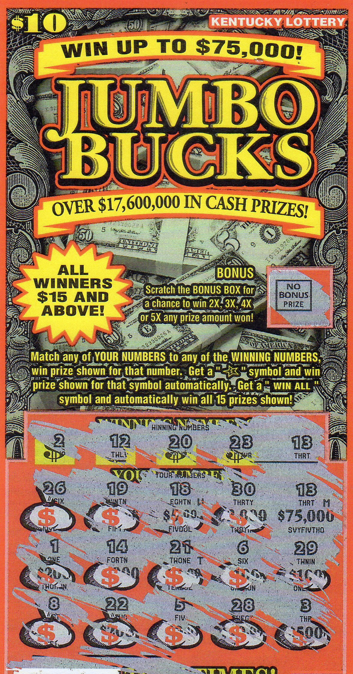 Ohio lottery lucky for life prizes in bulk
