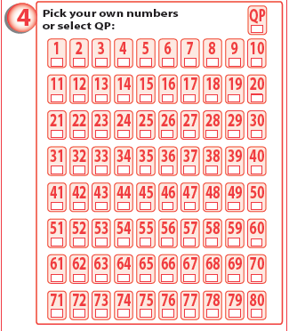 keno to go draw numbers