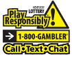Play Responsibly! 1-800-GAMBLER
